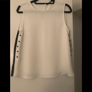 Zara sleeveless blouse.  Size small